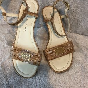 NWOB Marc Jacobs Leather Sandals.